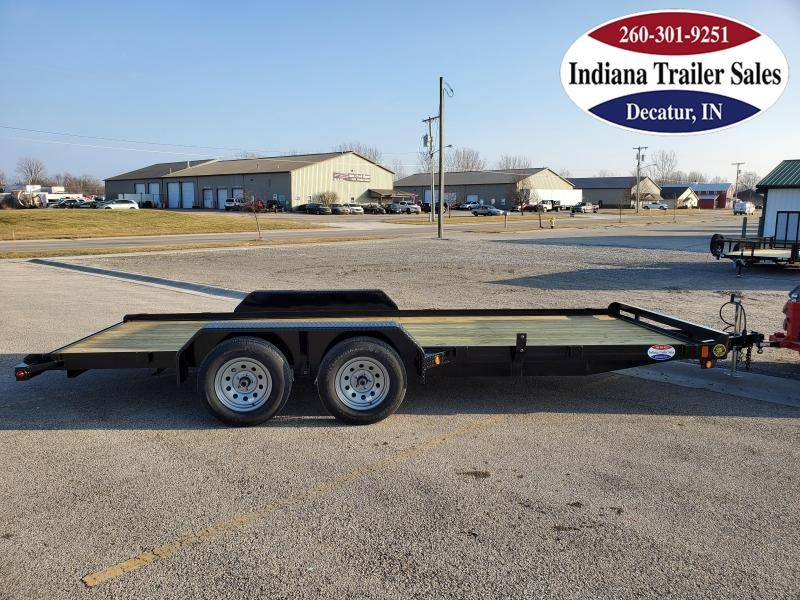2021 Gatormade Trailers 82x18 Lowboy Car / Racing Trailer
