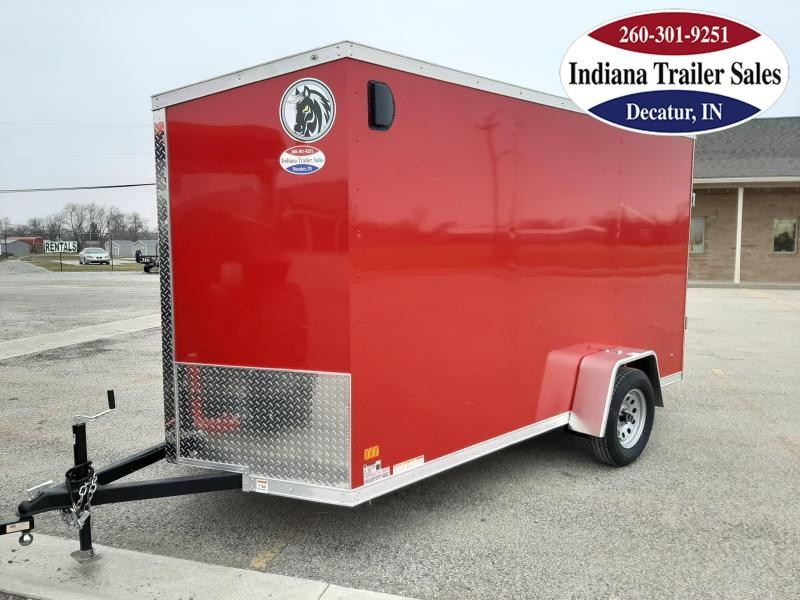 2021 Darkhorse Cargo 6x12 DHW6X12SA30 Enclosed Cargo Trailer