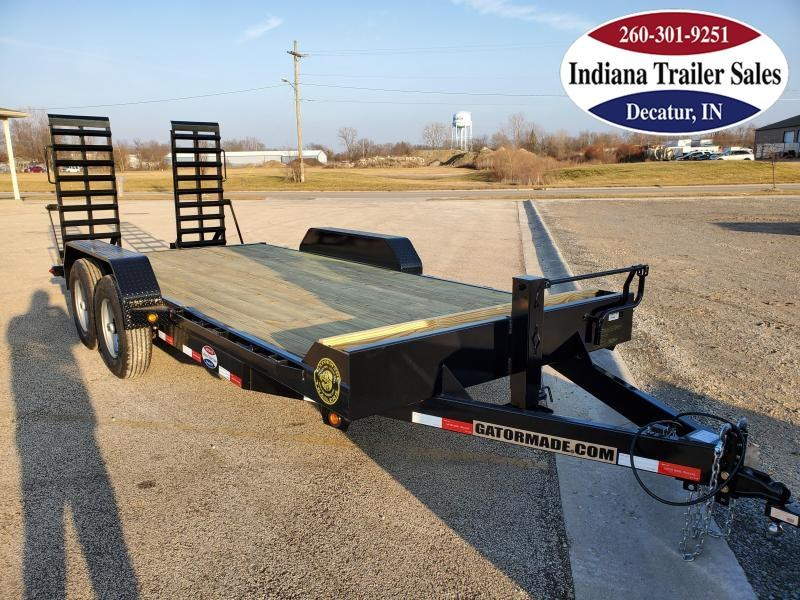 2021 Gatormade Trailers 82x19 +3 Series Equipment Trailer
