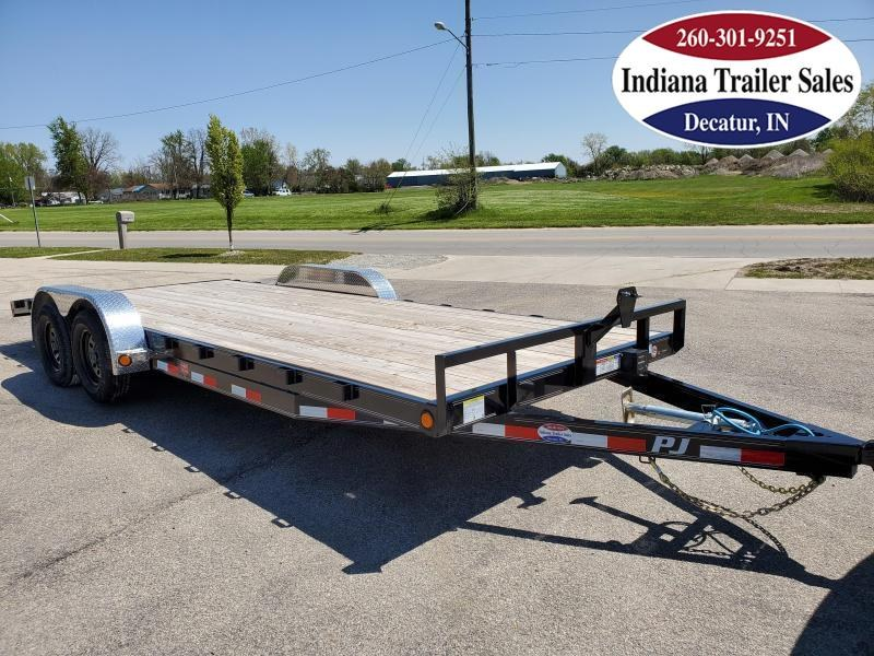 2021 PJ Trailers 83x20 C5202 Car / Racing Trailer