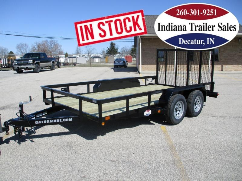2021 Gatormade Trailers 82x14ft Utility Trailer