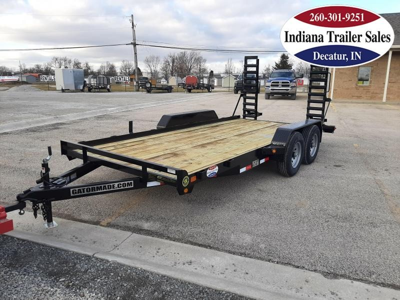 2021 Gatormade Trailers 82x16 GT-XT Equipment Trailer