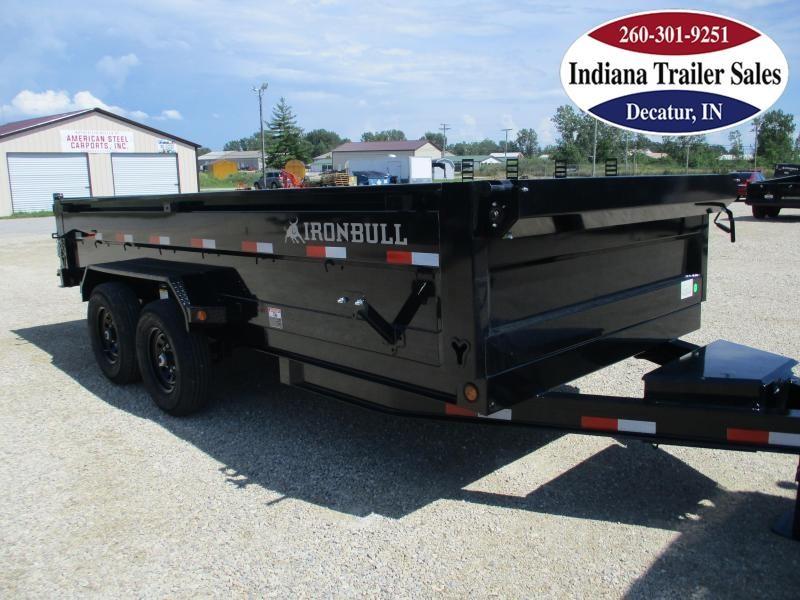 2022 Iron Bull 83x16 DTB8316072 Dump Trailer