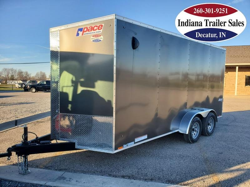 2021 Pace American 7x16 PSCBC7.0X16TE2FF Enclosed Cargo Trailer