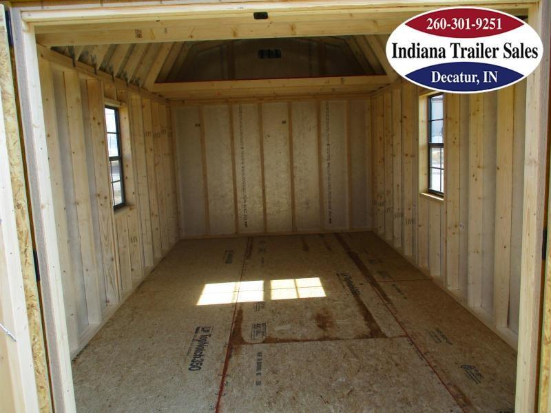 2021 Sheds Direct 10x16 Smart Barn - The Truman