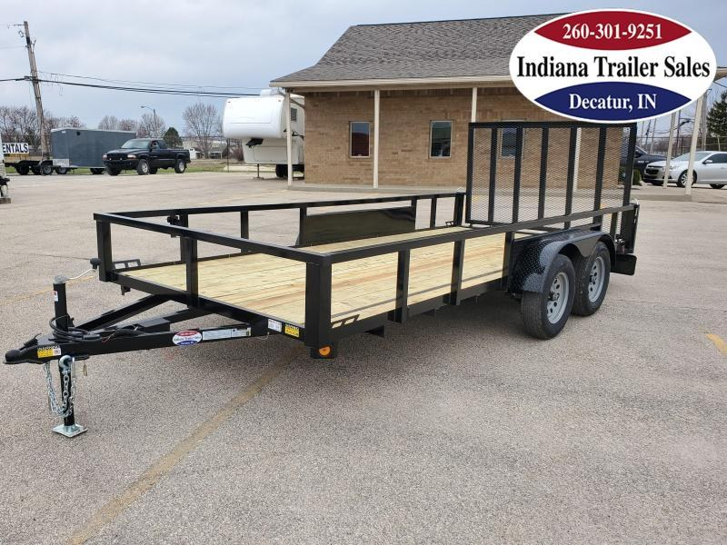 2021 Quality Steel and Aluminum 82x16 - 8216AN7KTA Utility Trailer