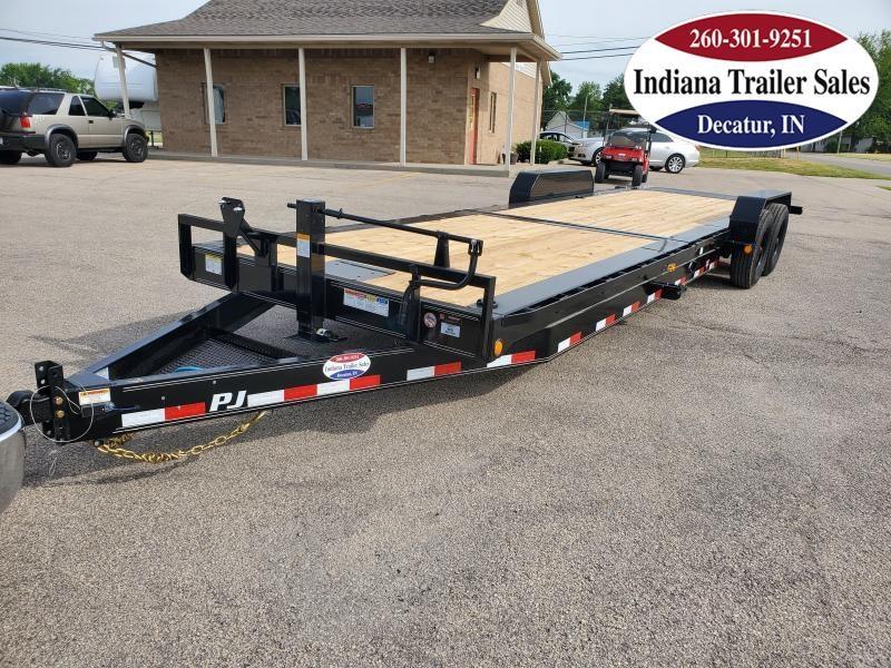 2021 PJ Trailers 82x26 TK262 Equipment Trailer Tilt