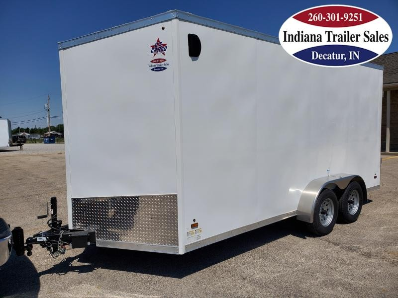 2021 US Cargo 7x16 ULAFTX716TA2 Enclosed Cargo Trailer