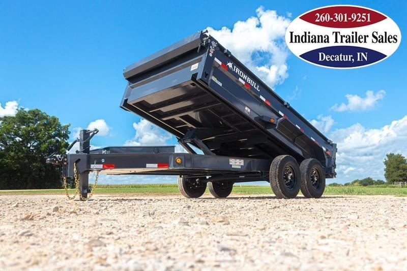 2022 Iron Bull 83x14 DWB8314072 Dump Trailer