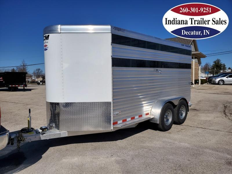 2020 CM Stocker AL-V Livestock Trailer