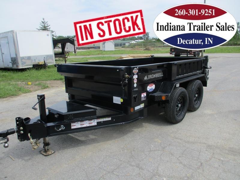 2022 Iron Bull 60x10 7K DTB6010032 Dump Trailer