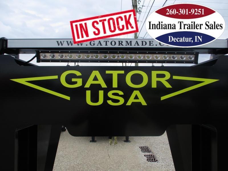 2022 Gatormade Trailers 102x45 40+5 Elite Gooseneck 24.9K Equipment Trailer