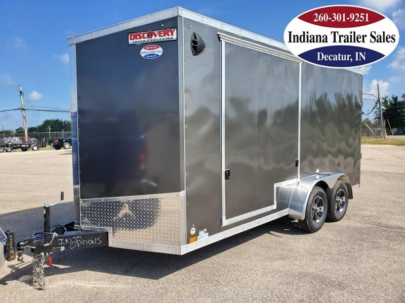 2021 Discovery Trailers 7x16TA2 DRSE716TA35 Enclosed Cargo Trailer