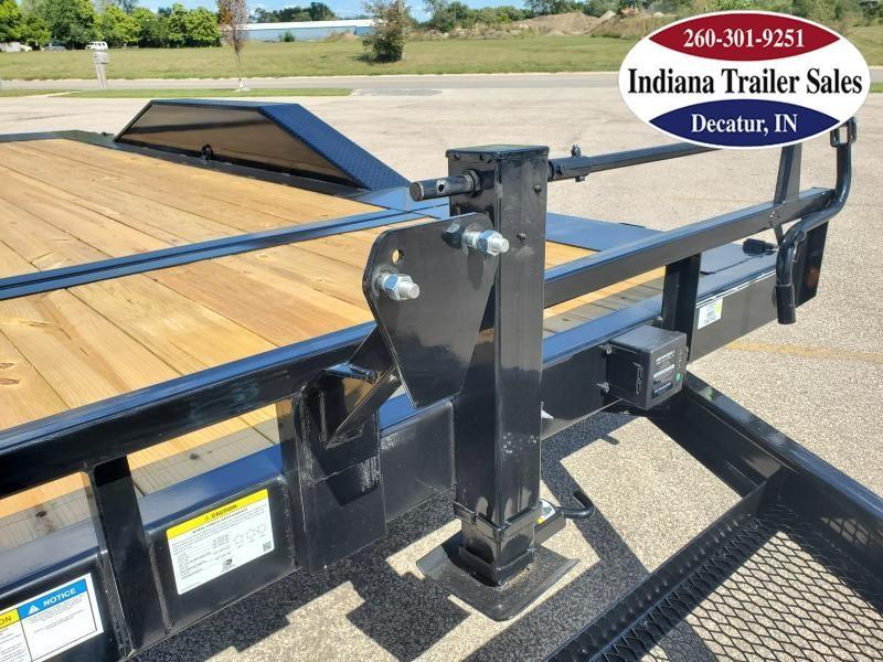 2021 PJ Trailers 102x20 TS202 Equipment Trailer Tilt