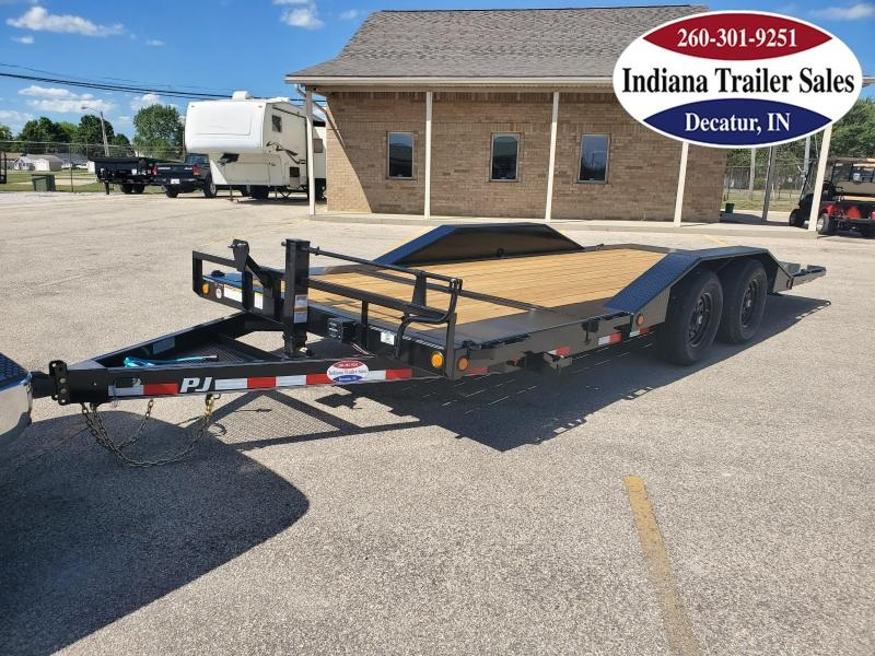 2021 PJ Trailers 102x20 TS202 Equipment Trailer Tilt