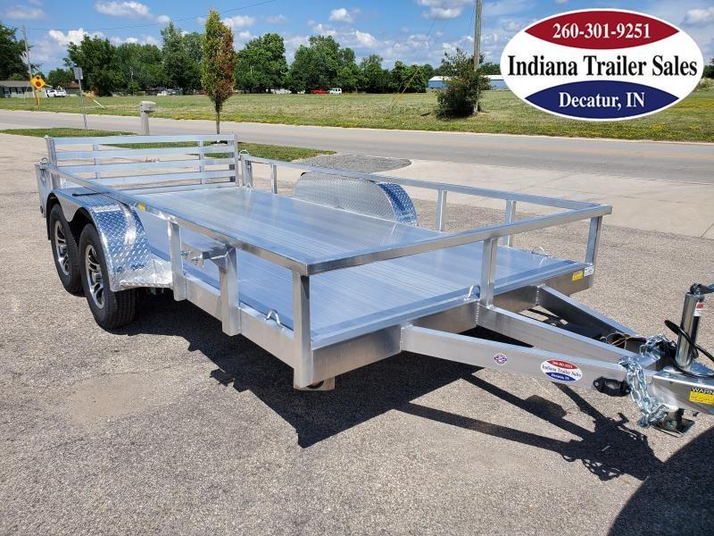 2021 Quality Steel and Aluminum 80x14 8014ALDX3.5KSA Utility Trailer