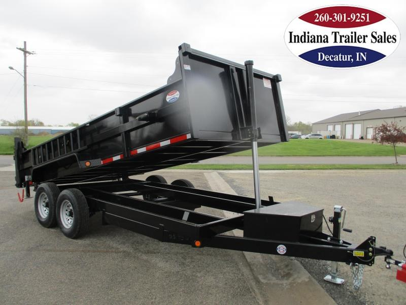 2022 Quality Steel and Aluminum 83x16 8316D14K Dump Trailer