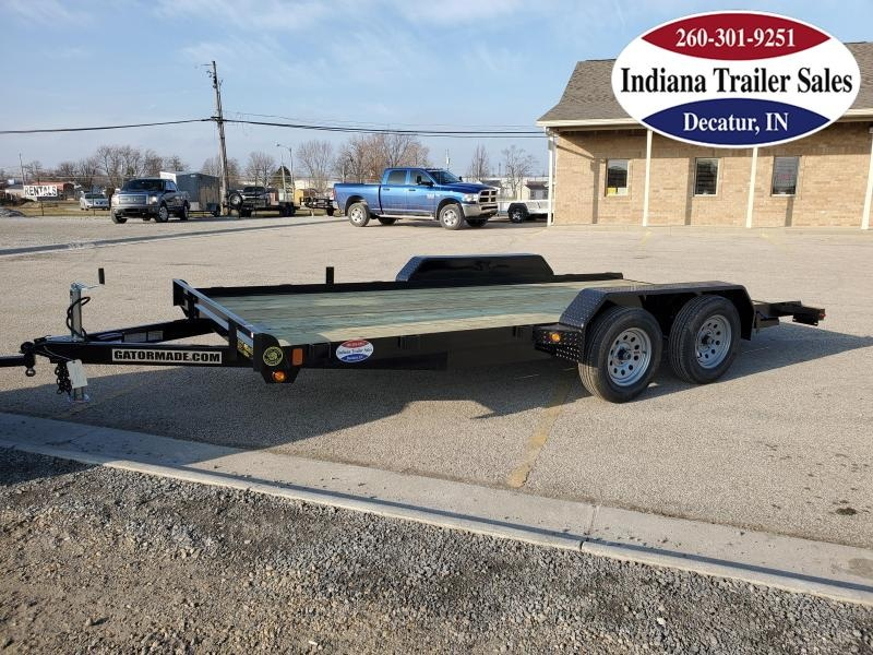 2021 Gatormade Trailers 82x16 Lowboy Car / Racing Trailer
