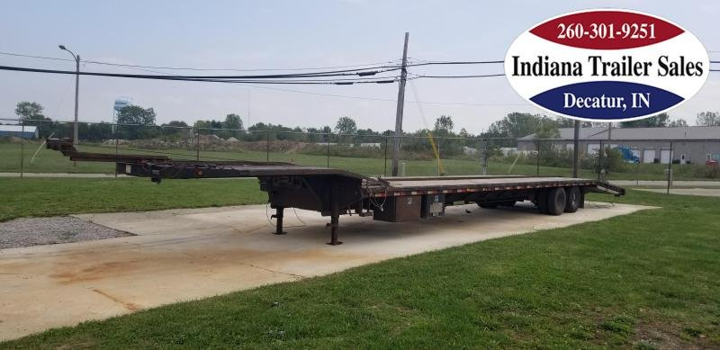 2013 PJ Trailers 53ft Step Deck Equipment Trailer