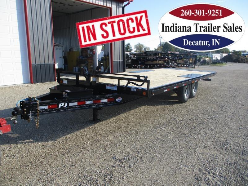 2022 PJ Trailers 102x22 T8222 Equipment Trailer
