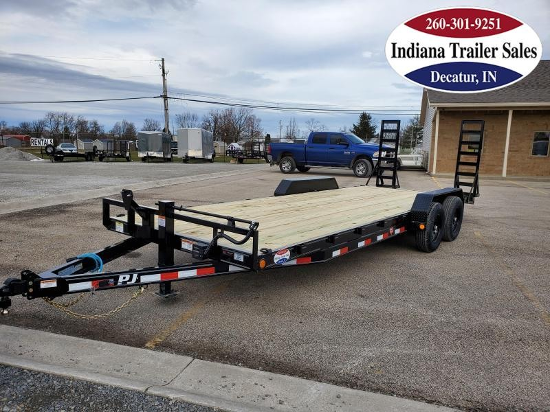 2021 PJ Trailers 83x22 CE222 Car / Racing Trailer