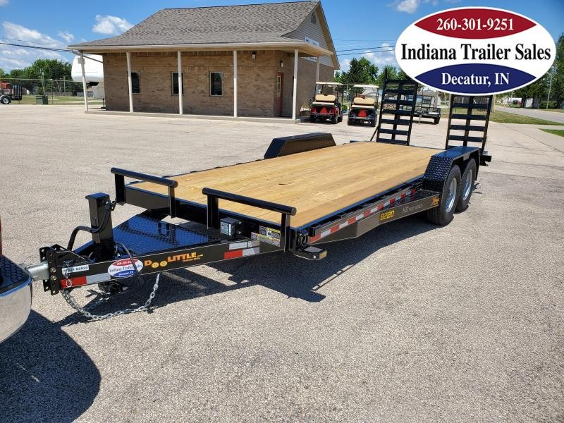 2021 DooLitttle Trailers 82x20 XT822014K Equipment Trailer