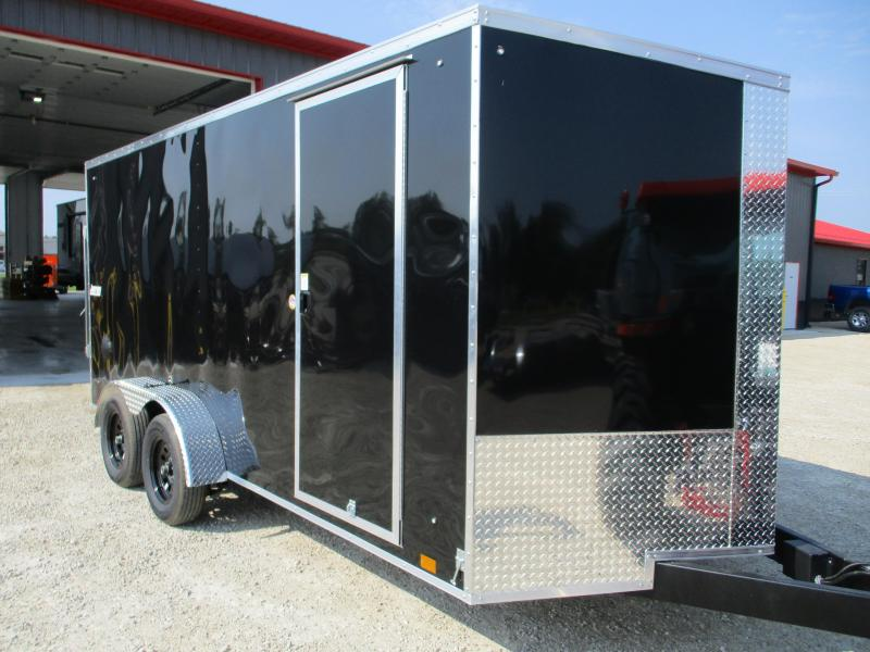 Rental - 2022 Pace American 7x16 Enclosed Cargo Trailer
