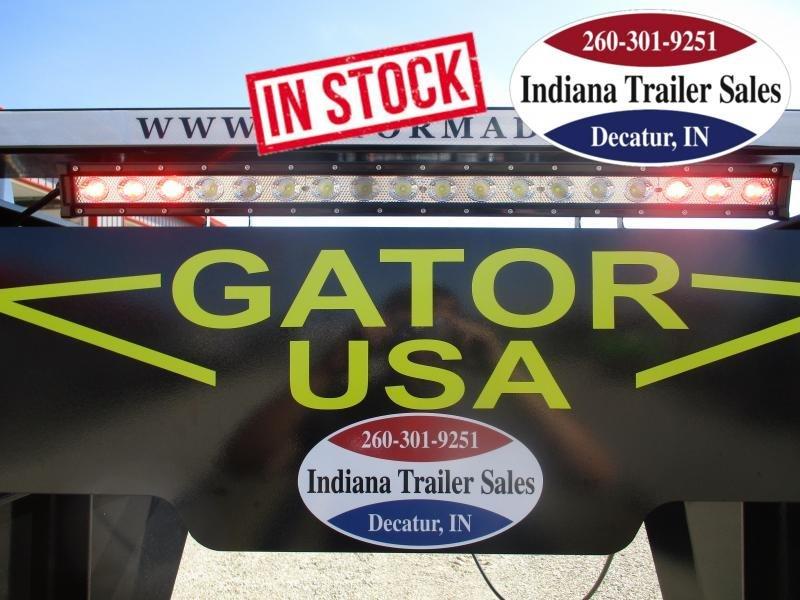 2022 Gatormade Trailers 102x30 25+5 Elite Gooseneck 24.9K Equipment Trailer