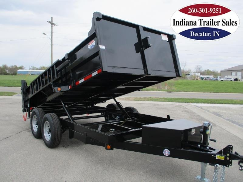 2022 Quality Steel and Aluminum 83x14 8314D14K Dump Trailer
