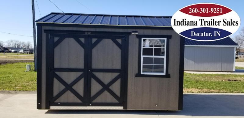 2020 Sheds Direct 8x12 Painted Smart Shed - The Monroe