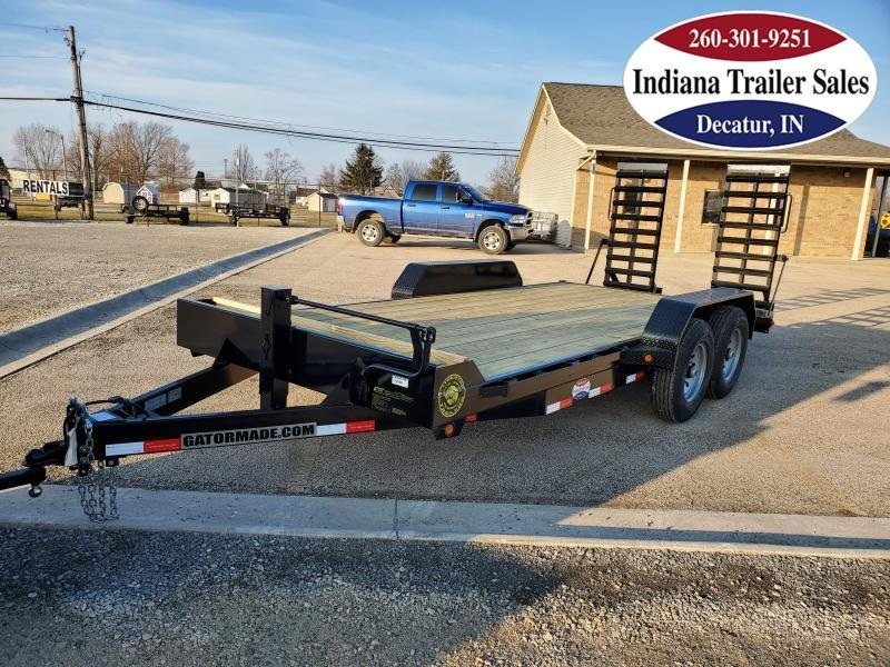2021 Gatormade Trailers 82x19 14K GVWR Equipment Trailer