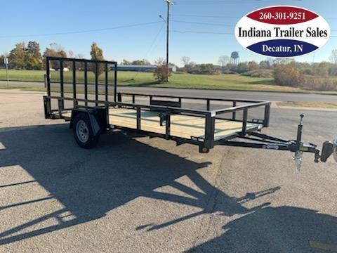 2022 Quality Steel and Aluminum 82x14 - 8214AN3.5KSA Utility Trailer
