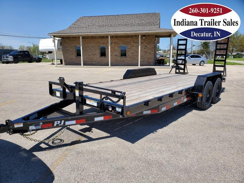 2021 PJ Trailers 83x20 CC202 Equipment Trailer
