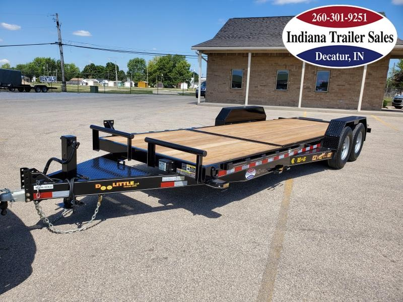 2021 DooLitttle Trailers 82x22 GT822214K Equipment Trailer Tilt