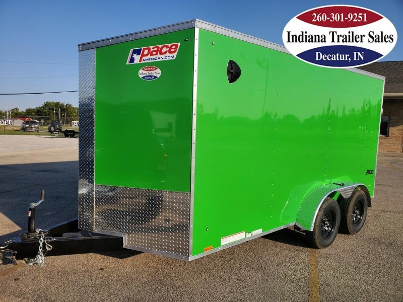 2021 Pace American 7x14 PSCBC7.0X14TE2 Enclosed Cargo Trailer