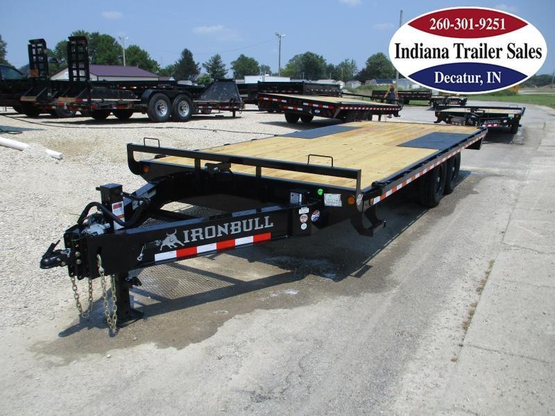 2022 Iron Bull 102x20 FDP0220072 Equipment Trailer