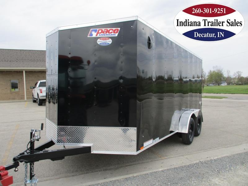 2022 Pace American 7x16 PSCAB7.0X16TE2 Enclosed Cargo Trailer
