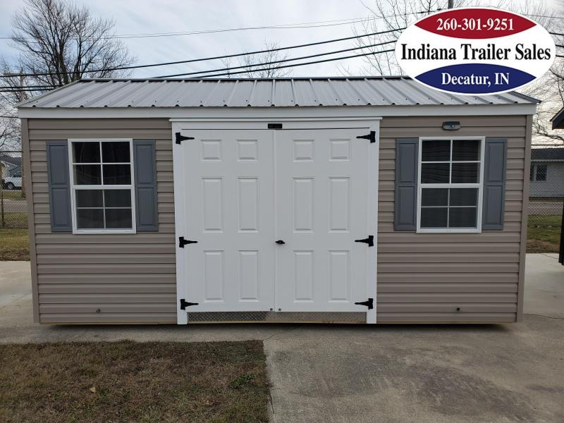 2020 Sheds Direct 10x16 Vinyl Standard - The Arthur