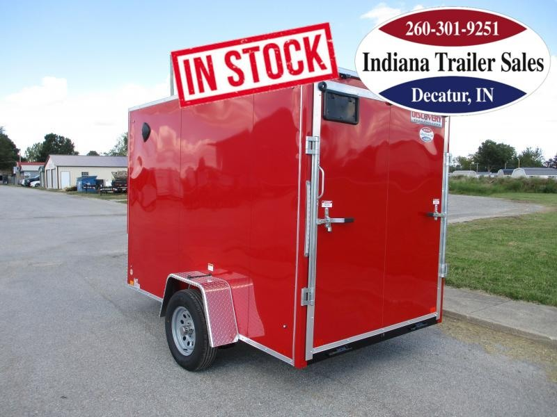 2022 Discovery Trailers 6x10 DRSE610SA Enclosed Cargo Trailer