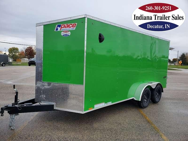 2021 Pace American 7x16 PSCBC7.0X16TE2 Enclosed Cargo Trailer