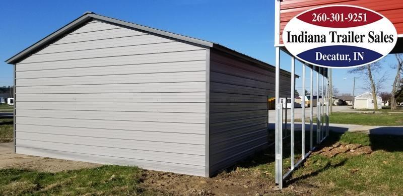 2020 American Steel Carports Utility Carport w/Storage Shed Metal Building