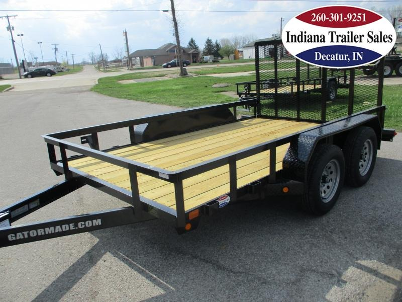 2021 Gatormade Trailers 82x12ft Utility Trailer