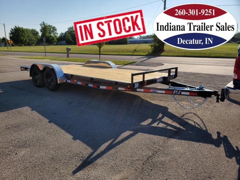 2021 PJ Trailers 83x18 C5182 Car / Racing Trailer