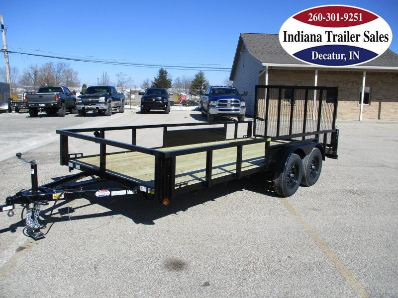 2022 Quality Steel and Aluminum 82x16 - 8216AN7KTA Utility Trailer