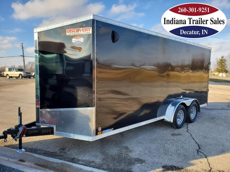 2021 Discovery Trailers 7x18 DRSE718TA2 Enclosed Cargo Trailer