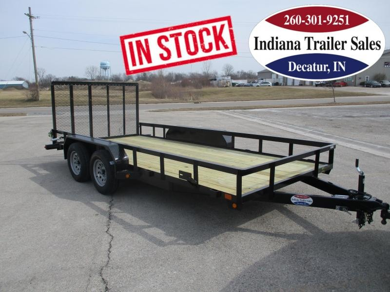 2022 Gatormade Trailers 82x16ft Utility Trailer
