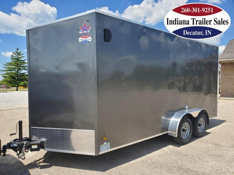 2021 US Cargo 7x16 ULAFT716TA2 Enclosed Cargo Trailer