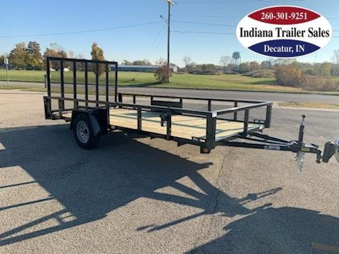 2021 Quality Steel and Aluminum 82x14 - 8214AN3.5KSA Utility Trailer