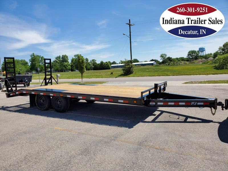2021 PJ Trailers 102x20 F8202 Equipment Trailer
