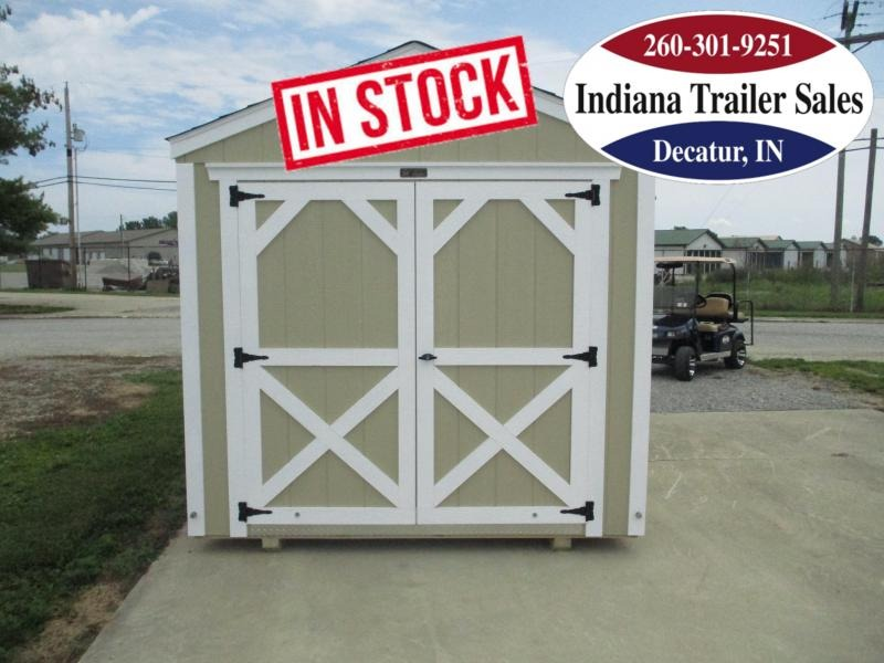 2022 Sheds Direct 8x12 Painted Smart Shed